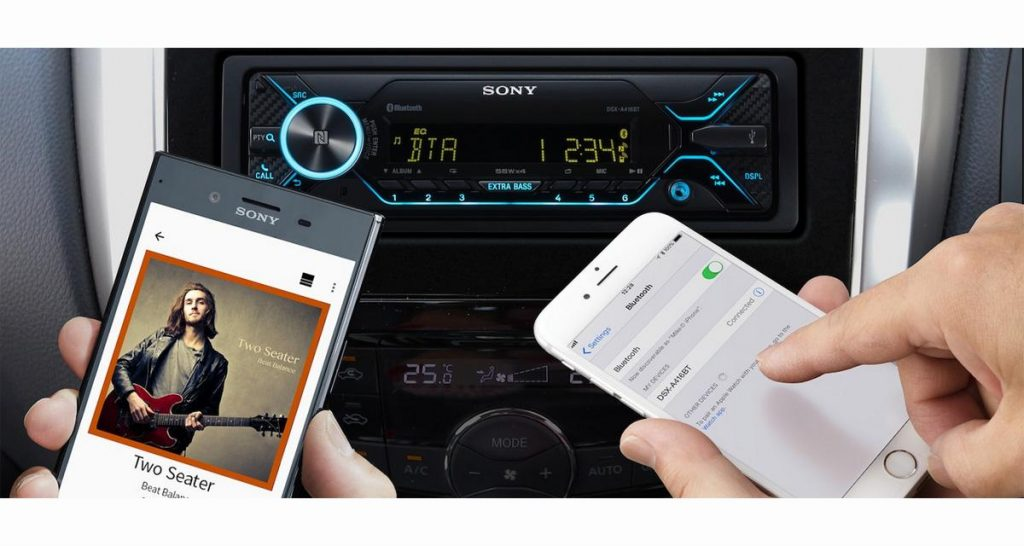 GPS autoradio Bluetooth